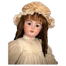 MAGNIFICENT Child Size Antique German Bisque Doll Handwerck 79