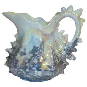 Rare ROYAL BAYREUTH Spiky Shell Creamer