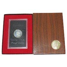 1971 Eisenhower S Proof Dollar, US Mint OGP