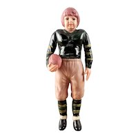 Vintage Japan Celluloid Football Player Sienna College
