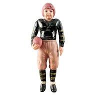 Vintage Japan Celluloid Football Player Sienna College