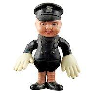 Vintage Japan Celluloid Traffic Cop Rattle