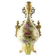 A Fine Antique New York & Rudolstadt German Porcelain Vase