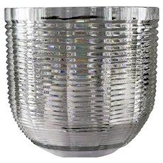 Large & Impressive Josef Riedel Cut Crystal Vase