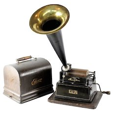 "A Good Thomas Edison ""GEM"" Cylinder Phonograph"