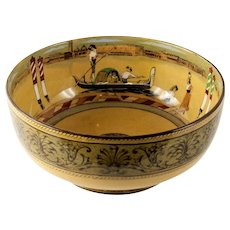 "Royal Doulton ""Gondoliers"" scenic 9"" Bowl"