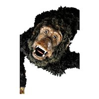 Unique Vintage Viscious Monkey Figural Display Prop