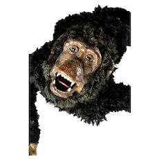 Unique Vintage Viscious Monkey Figural Display Prop