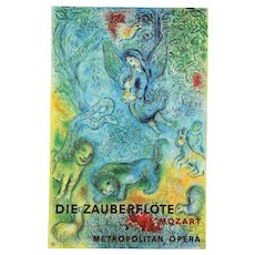 Marc Chagall, The Magic Flute (Die Zauberflote) Signed Litho