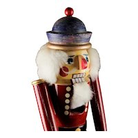Bacardi Rum Advertising Wood Nutcracker