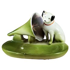 Nippon Porcelain RCA Nipper Souvenir Springfield ILL Fairing
