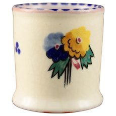Poole pottery England toothpick  holder