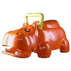 "Rare Playskool Pre-Production Prototype ""Ride on Hippo"" Toy"