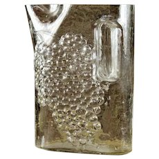 Riedel Embossed grapes 64oz pitcher