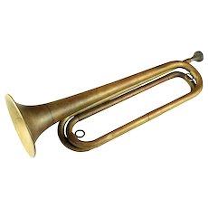 Antique Model 1892 Brass bugle