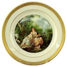 Pickard Porcelain Cabinet Plate