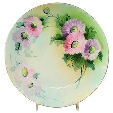 Hand Painted Rudolstadt Studio Porcelain Plate
