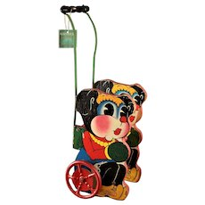 Vintage Trix Gong Bell Stroller Toy