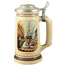"Avon Limited Edition ""Shipbuilders"" Beer Stein"