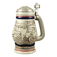 "Avon Limited Edition ""Early Automobiles"" Beer Stein"