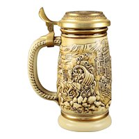 "Avon Limited Edition ""The Gold Rush"" Beer Stein"
