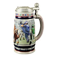 "Avon Limited Edition ""History of Baseball"" Beer Stein"