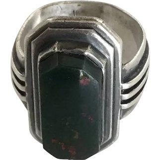 Eichner Sterling Silver Bloodstone Ring