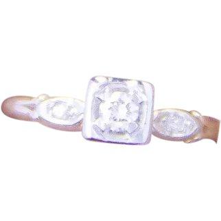 14K YG & WG Diamond Ring - 1960's