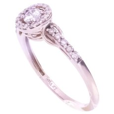 LeVian Nude & White Vanilla Diamond Ring