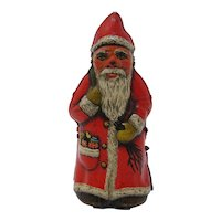 Tin-plate wind-up Santa Claus toy Arnold US Zone Germany