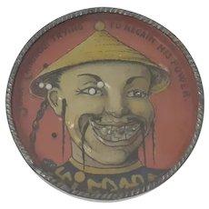 Circa 1900 German round dexterity puzzle Chinese Boxer Rebellion