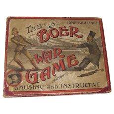 Circa 1900 The Boer War Game Tiddlywinks game
