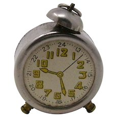 vintage novelty alarm clock Pencil Sharpener