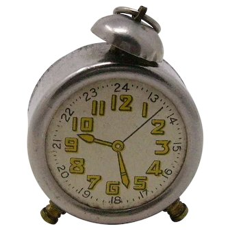 vintage novelty alarm clock Pencil Sharpener
