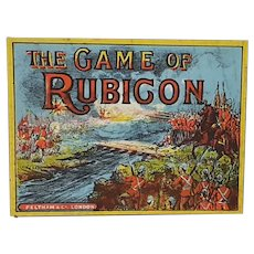 Circa 1890's The Game of Rubicon game board Uganda African history interest