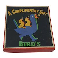 Vintage Bird's Custard Advertising Puzzle made by Chad Valley
