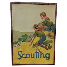 1930's Chad Valley Scouting Boy Scouts board game