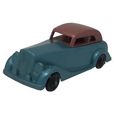 1950's novelty Pencil Sharpener diecast car Armstrong Siddeley