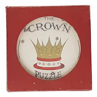 Glevum dexterity puzzle The Crown Puzzle
