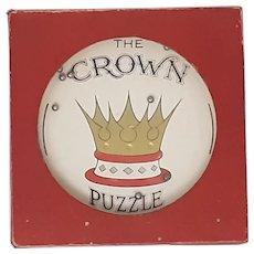Glevum dexterity puzzle The Crown Puzzle