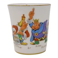 1939 Paramount Pictures Gulliver's Travels Hammersley china beaker