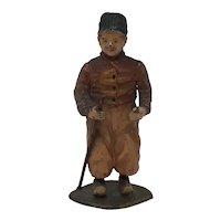 Heyde Dutch boy lead figure toy