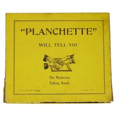 Vintage Planchette board boxed Ouija Mystic Game