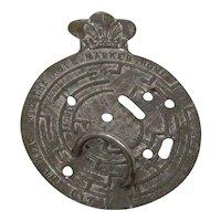 1890's tin penny toy Maze Puzzle Joseph Walker Birmingham