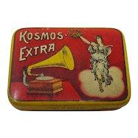 Phonograph needle tin Kosmos Extra