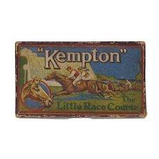 vintage Kempton Horse Race Gambling Game