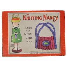 1930's Spear's Games Knitting Nancy toy