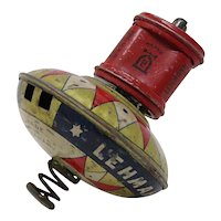German Tin-plate Lehmann Hop Hop Spinning top toy