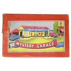 British Marx Mystery Garage tin car track toy English version of Mystery Tunnel