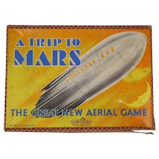 1930's A Trip to Mars space board game Glevum Games